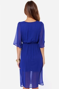 All of Me Royal Blue Midi Dress at Lulus.com!