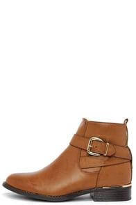 Desert Rose Tan Ankle Boots at Lulus.com!