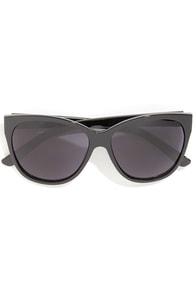 Set Your Sights Black Sunglasses at Lulus.com!