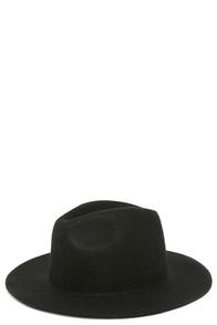 Rhythm The Pocket Black Fedora Hat at Lulus.com!