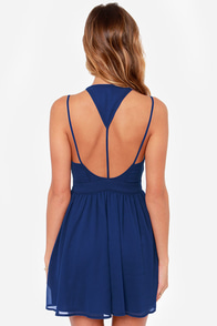 LULUS Exclusive L.A. Lady Blue Dress at Lulus.com!