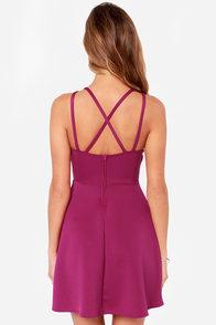 LULUS Exclusive Get it Girl Berry Purple Dress at Lulus.com!