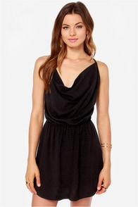 LULUS Exclusive In Too Deep Black Dress at Lulus.com!