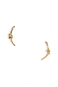 Tightly Tangled Gold Ear Cuffs at Lulus.com!