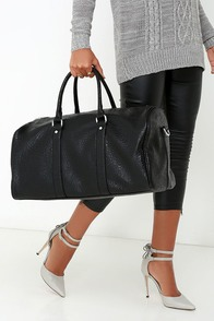 Tickets for Two Black Weekender Bag at Lulus.com!