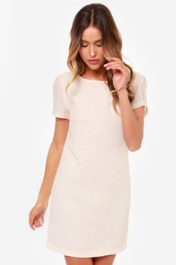 Demure the One Blush Dress at Lulus.com!
