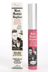 The Balm Meet Matt(e) Hughes Chivalrous Pink Liquid Lipstick