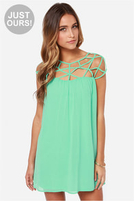 LULUS Exclusive All the Cage Mint Green Dress at Lulus.com!