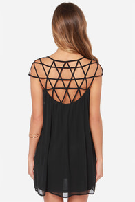 LULUS Exclusive All the Cage Black Dress at Lulus.com!