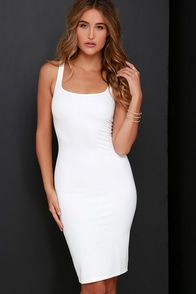 Rise of Dawn Sleepless Ivory Bodycon Dress at Lulus.com!