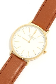 Final Countdown Tan Watch at Lulus.com!