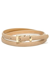 Wisp of Wonder Taupe Belt at Lulus.com!