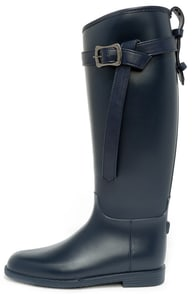 Dirty Laundry Riff Raff Navy Rain Boots