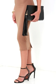 Top Deck Black Clutch at Lulus.com!