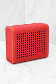 Nixon Mini Blaster Red Bluetooth Speaker