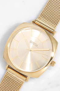 Breda Vix Gold Watch