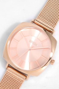 Breda Vix Rose Gold Watch