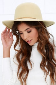 Brixton Tiller Cream Hat
