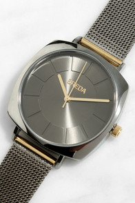 Breda Vix Gunmetal Watch
