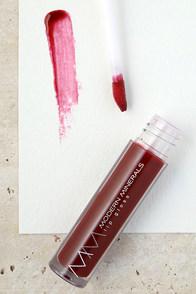 Modern Minerals Garnet Invigorating Dark Red Lip Gloss