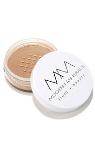 Modern Minerals Bronze Honey Matte Powder Foundation