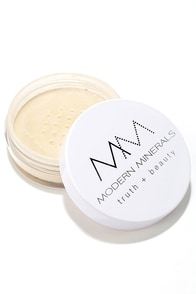 Modern Minerals Light Olive Powder Foundation