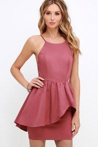 Save the Last Dance Marsala Dress at Lulus.com!
