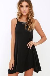 RVCA Thievery Black Dress