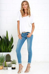 Your Desire Medium Wash Skinny Jeans