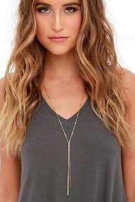 image Posh Pair Gold Necklace