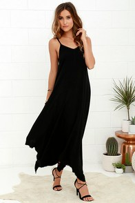 Others Follow Kiara Black Maxi Dress