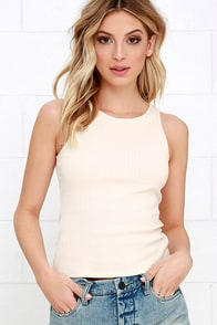 Others Follow Blondie Beige Top at Lulus.com!