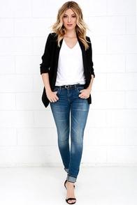 Blank NYC Skinny Classique Medium Wash Skinny Jeans