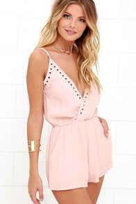Second Look Blush Pink Romper