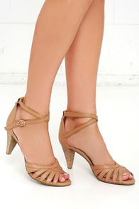 image Seychelles Scenic Tan Leather Heels