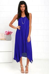 image Your Love Royal Blue Midi Dress