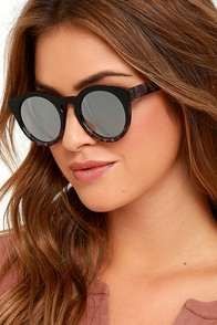 image Cold Brew Black and Grey Marble Sunglasses