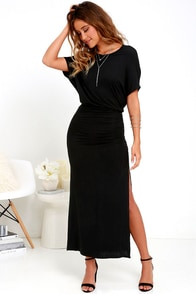 image Brave Soul Black Maxi Dress