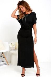 Brave Soul Black Maxi Dress