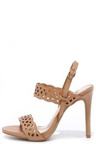 image Suga Suga Natural Cutuout Heels