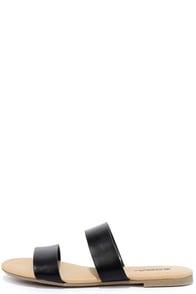 image Electric Slide Black Slide Sandals