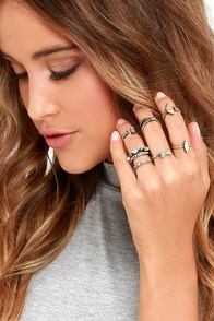 image Timeless Trinkets Gold Ring Set
