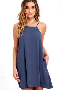 Clarion Call Denim Blue Dress