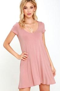 image All a Dream Blush Swing Dress