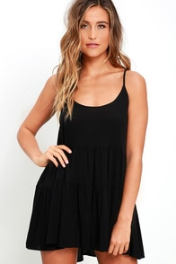 image Best Laced Plans Black Babydoll Dress