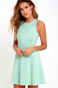 Black Swan Liana Mint Dress at Lulus.com!