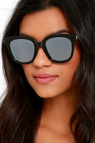 First-Rate Find Black Sunglasses at Lulus.com!