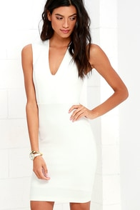 image Love the Limelight White Dress