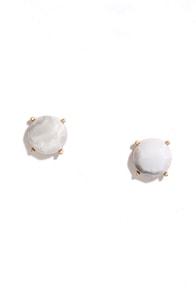 Stone Unturned Grey Earrings