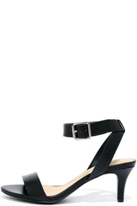 image Rendezvous Point Black Kitten Heels